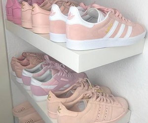 addicted, shoes, and adidas image