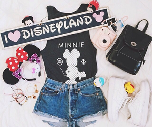 accessories, outfit, and disneyland image