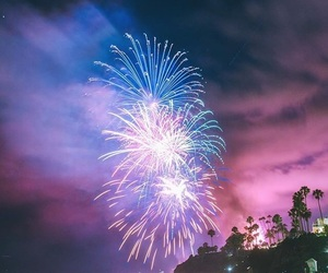colorful, fireworks, and show image