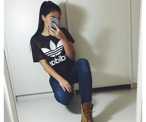 adidas, shirt, and cute outfit image