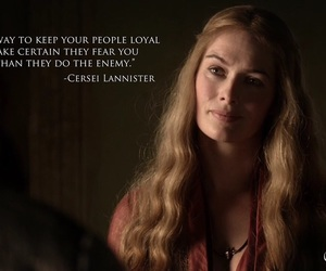 king, game of thrones, and cercei lannister image