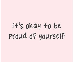 quotes, proud, and pink image