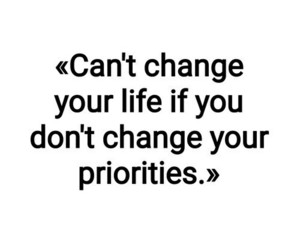 priorities, blog, and change image