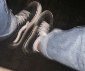 blurry and vans image