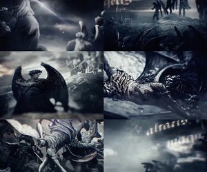 dark angels, lauren kate, and fallen movie image