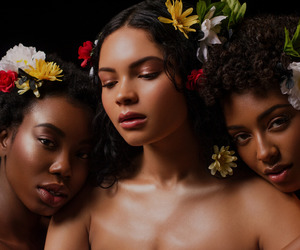 beautiful, melanin, and nature image