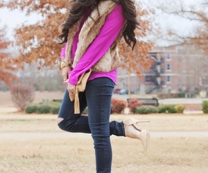 pink, outum, and shoes image