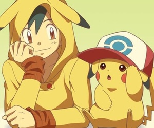 pokemon, pikachu, and ash image