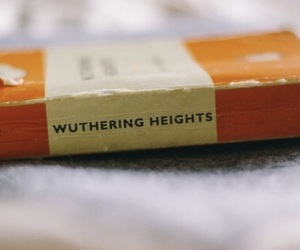 book, love, and wuthering heights image