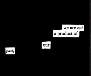 aesthetic, words, and dark image