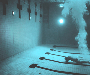 pool, water, and swimming image
