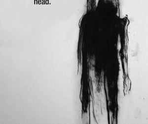 article, dark, and depressed image