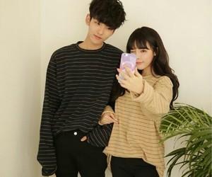 couple, korean, and tumblr image