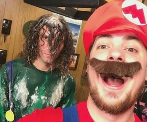 danny sexbang, arin hanson, and good mythical morning image