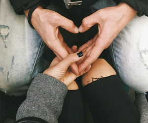 adorable, aesthetic, and black nails image