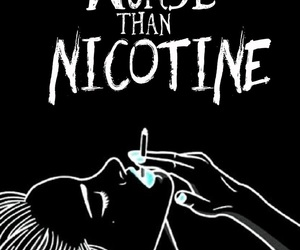 PANIC!, Lyrics, and Nicotine image