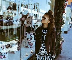 zendaya, style, and glasses image