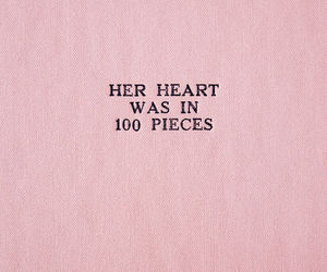 quotes, pink, and heart image