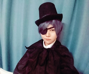 black butler, ceil, and cosplay image