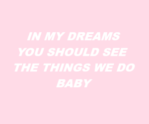 pink, aesthetic, and Dream image