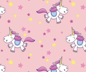 beauty, pink, and unicorn image
