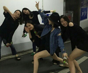 asian, friendship, and girl image