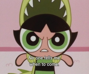 buttercup, cartoon, and powerpuff girls image