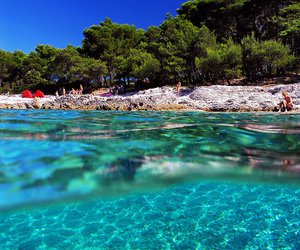 summer, Croatia, and beach image