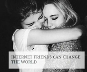 best friends, friends, and distance image