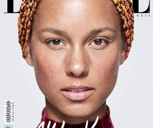 alicia keys, beauty, and cover image