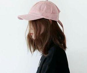 girl, pink, and korean image