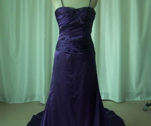 evening dresses, Prom, and purple prom dress image