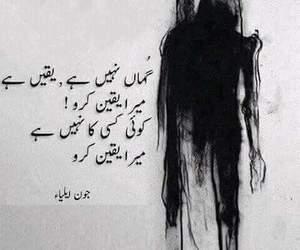 urdu, urdu poetry, and shayeri image