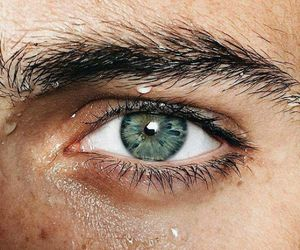 green, eye, and eyes image