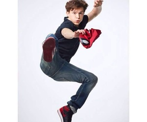 boy, tom holland, and jump image