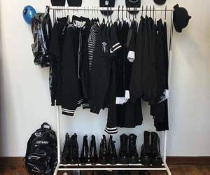 black, style, and cute image