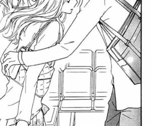caps, manga, and couple image