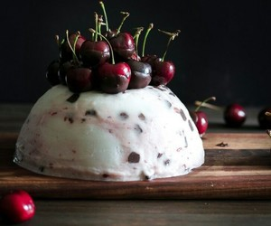 cherry, chocolate, and dessert image