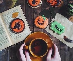 autumn, boo, and pumpkin image