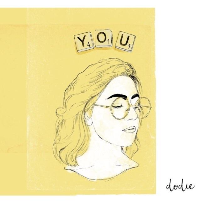 music, yellow, and dodie clark image