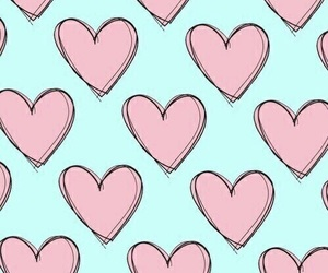 background, heart, and wallpaper image