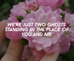 aesthetic, Lyrics, and two ghosts image