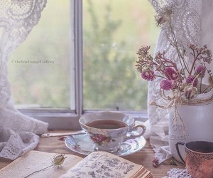 cottage, shabby chic, and vintage image