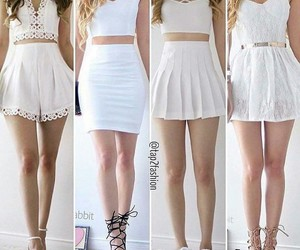 clothes, cute, and white image