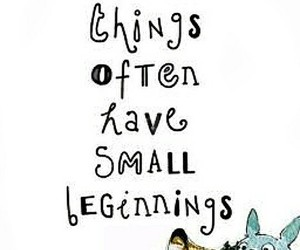 quote and totoro image