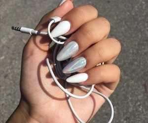nails, music, and aesthetic image