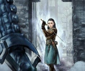 arya stark and game of thrones image