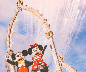 mickey mouse, minnie, and minnie mouse image