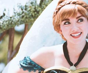 anna, frozen, and Walt Disney World image