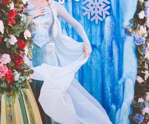 frozen, Walt Disney World, and elsa image